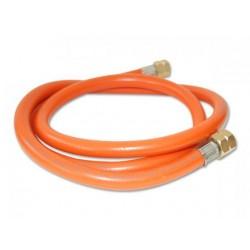 Tuyau orange 150 cm avec raccord 1/4