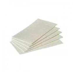 Serviettes blanche 1/8, 40x40 cm