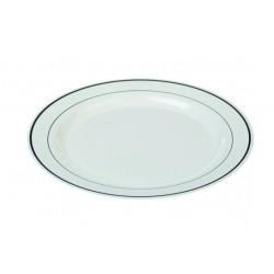 Assiette ronde 19 cm Silver Line