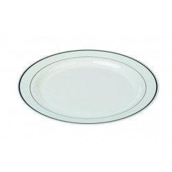 Assiette ronde 23 cm Silver Line