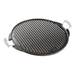 Plaque gril fonte émaillé 32 cm