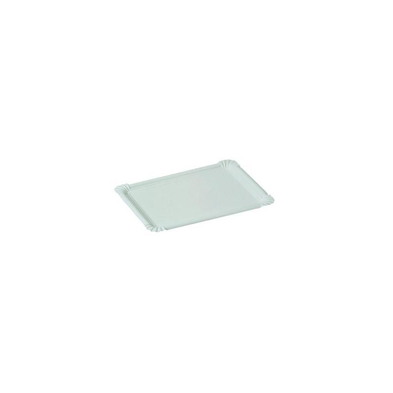assiette en carton blanche 13 x 20 cm. Black Bedroom Furniture Sets. Home Design Ideas