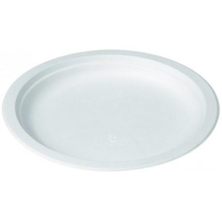 Assiette ronde 18 cm blanche