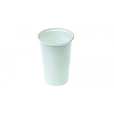 Gobelet souple ECONOM 2dl blanc