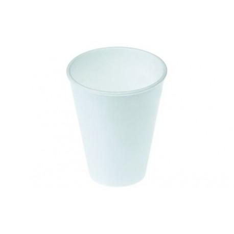 Gobelet isothermique polystyrène 2dl blanc