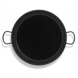 Plat à Paella bas acier émaillé